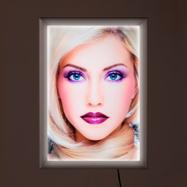 """LED Постер рамка """"Simple"""", еднострана"""