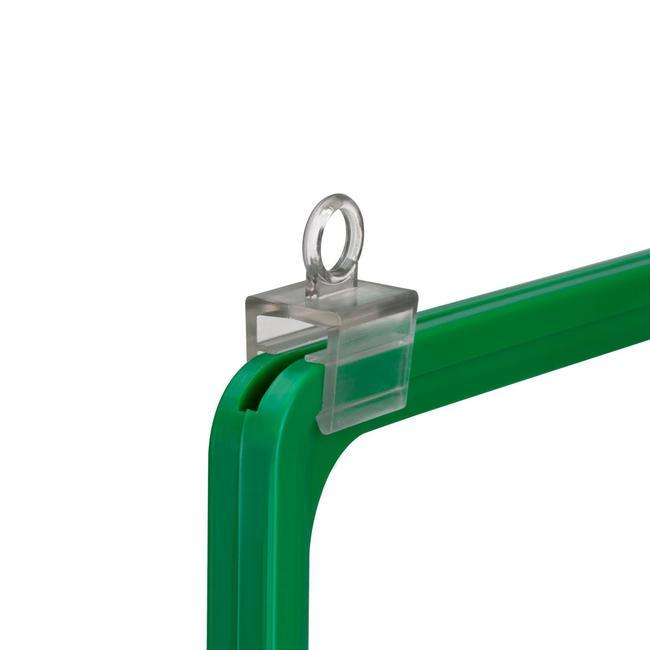 Прстен за прикачување за постер рамки, прстенот е паралелен со рамката