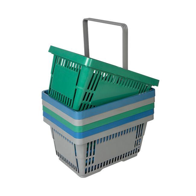 Корпа за пазарување производена од рециклиран материјал